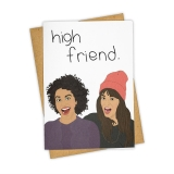 Greeting Card High Friend 229