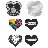 Enamel Pin Set Nightmare Before Xmas
