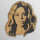Wood Ornament Beyonce