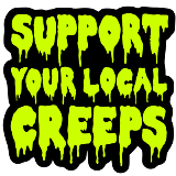 Enamel Pin Support Local Creeps