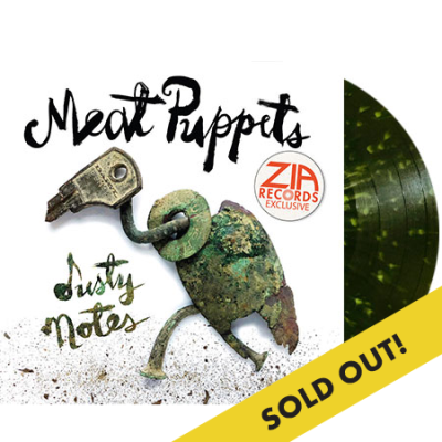 Meat Puppets Dusty Notes Zia Exclusive Swamp Green & Olive Splatter Colored Vinyl