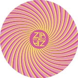 Slipmat Swirl Yellow Pink