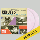 Refused The Shape Of Punk To Come Zia Exclusive(white & Red Swirl) * Numbered Limited To 300