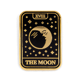 Enamel Pin Tarot Card The Moon