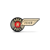 Enamel Pin Rock N Roll Fever