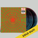 Black Angels Directions To See A Ghost Zia Exclusive(green & Red Starburst) Limited To 200 Numbered