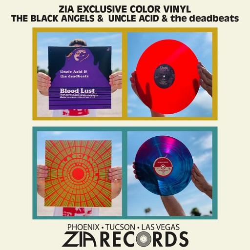 Zia Psycho Las Vegas Vinyl