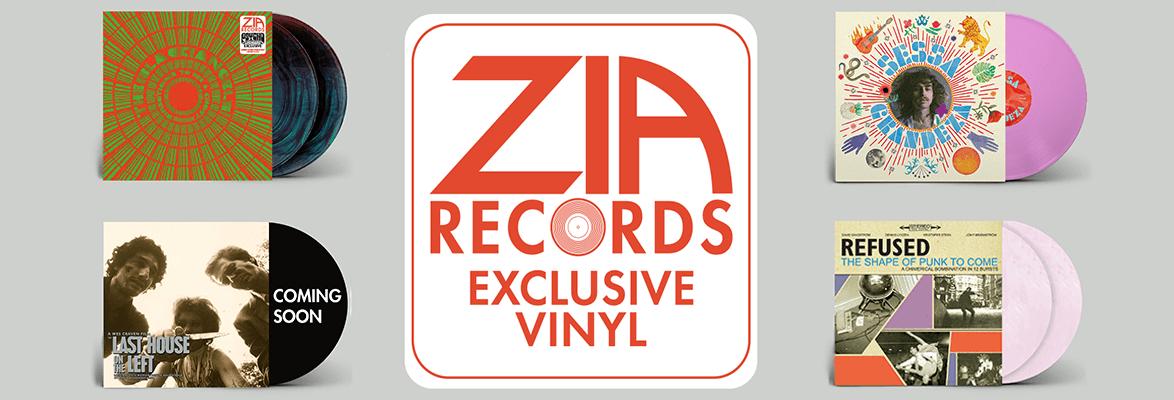 Zia Exclusive Vinyl Releases