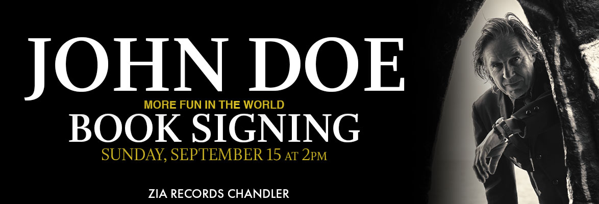 John Doe Book Signing