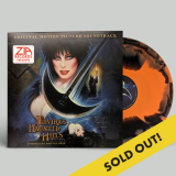 Elvira's Haunted Hills Soundtrack(orange & Black Swirl) Zia Records & Bull Moose Co Exclusive Limited To 200