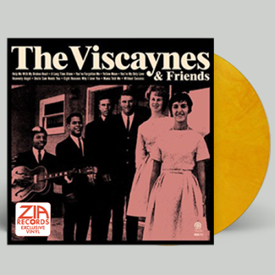 The Viscaynes & Friends Yellow Moon Vinyl Zia Exclusive Limited To 200