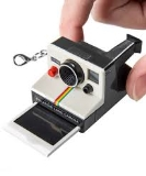 Keychain World's Coolest Polaroid