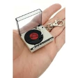 Keychain World's Coolest Turntable