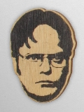 Wood Ornament Dwight