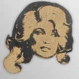 Wood Ornament Dolly Parton