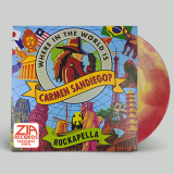 Rockapella Where In The World Is Carmen Sandiego? Red & Yellow Swirl Limited To 250 Zia Records & Bull Moose Co Exclusive